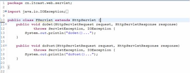 Servlet的细节1 学习笔记