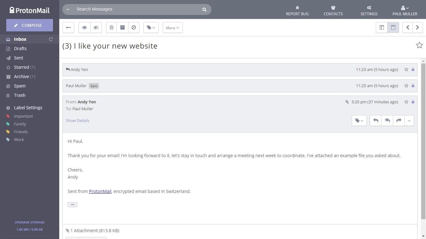 ProtonMail,免费的在线安全加密电子邮箱服务-爱资源网 , 专注分享实用软件工具&资源教程