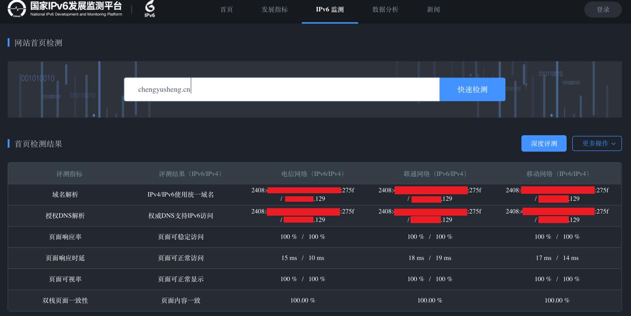 图3:网站首页IPv6监测结果.png