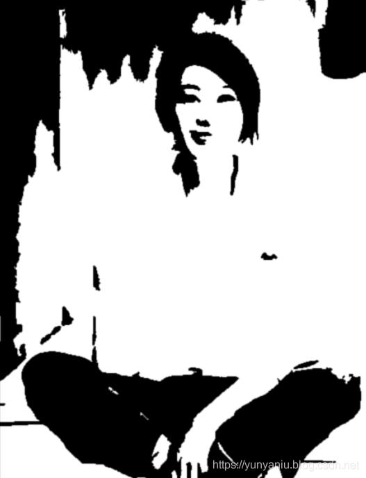 PS:PS将彩色相片变成纯黑白色