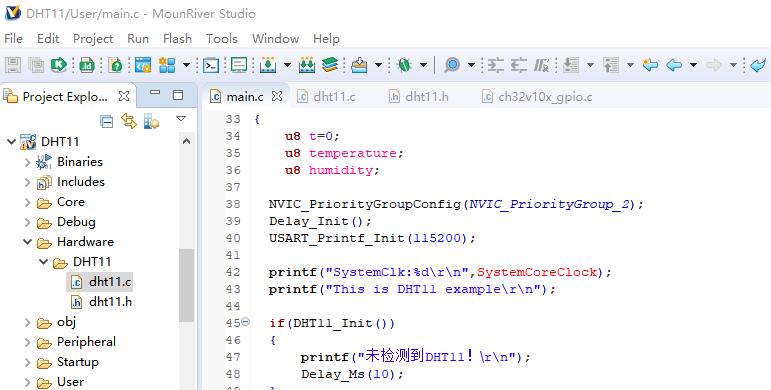RISC-V MCU开发实战(一) :DHT11