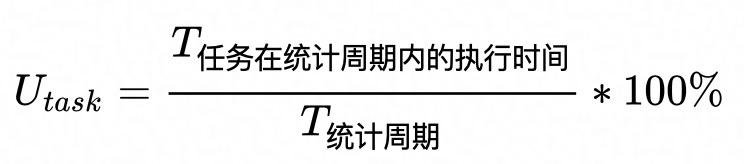 HaaS100 开发调试系列 之 CPU利用率(cpuusage)的原理与使用